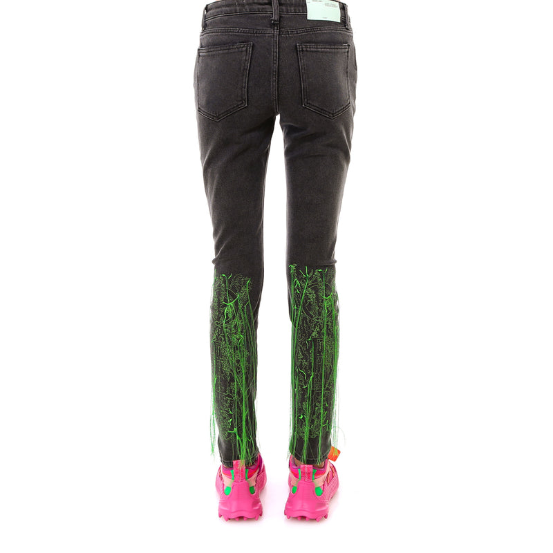 OFF WHITE Slim Fit & Skinny Pants OWYA003F19E96064 229839
