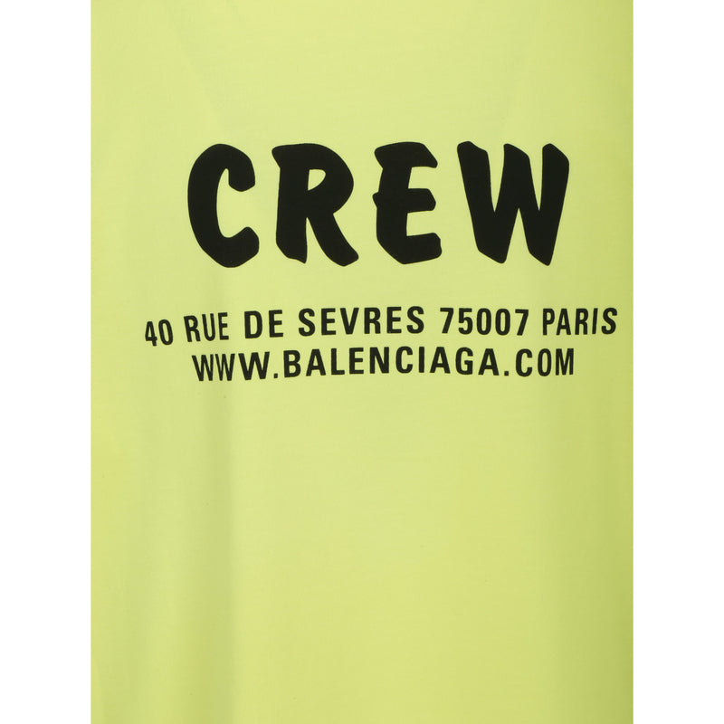 BALENCIAGA T-shirts & Top Wear 620941TIVG9 372218