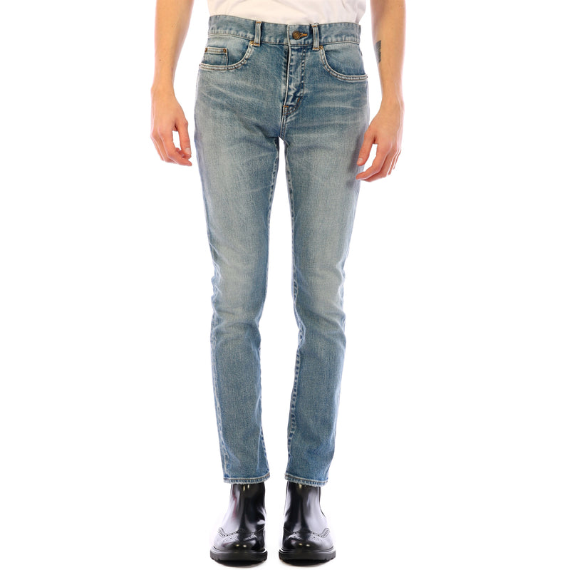SAINT LAURENT Slim Fit & Skinny Jean 601478 YJ507 4568 264333 - Ritzmall