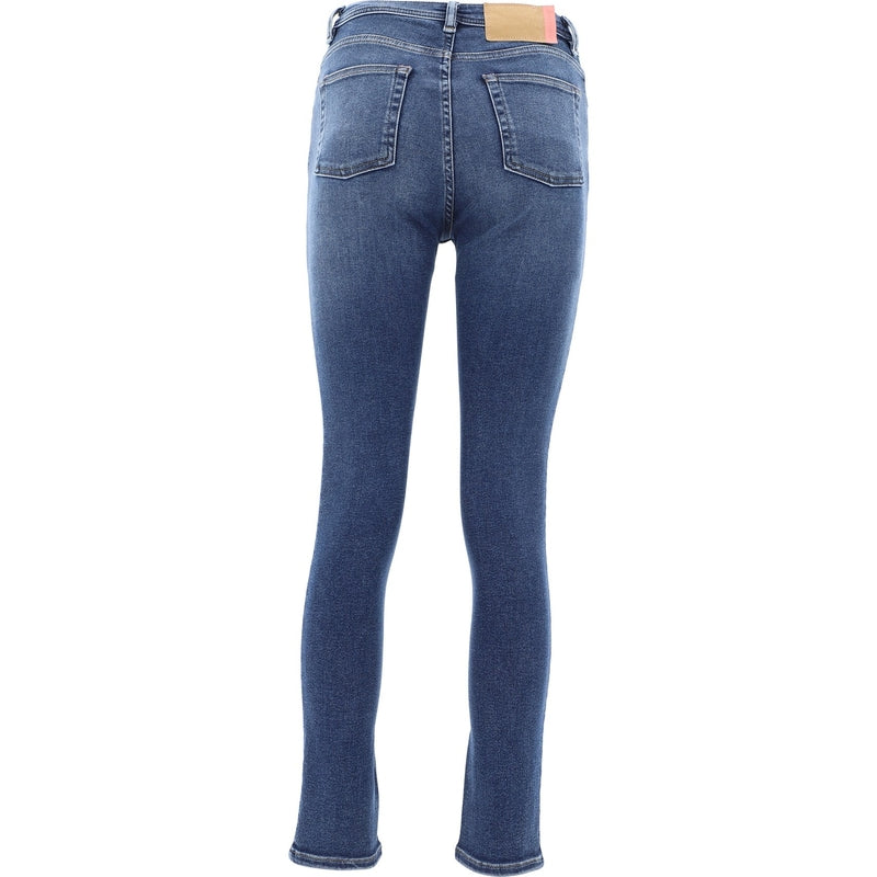 ACNE STUDIOS Slim Fit & Skinny Pants 30D176-127PEG MIDBLUE 324363