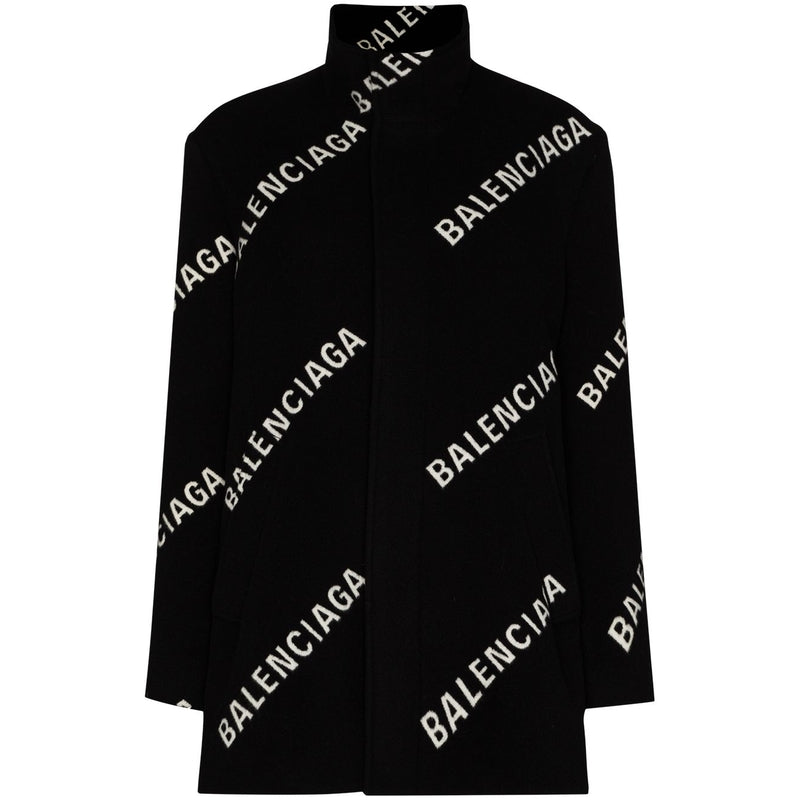 BALENCIAGA Single Breasted Coat 626572-TIU021070 353747