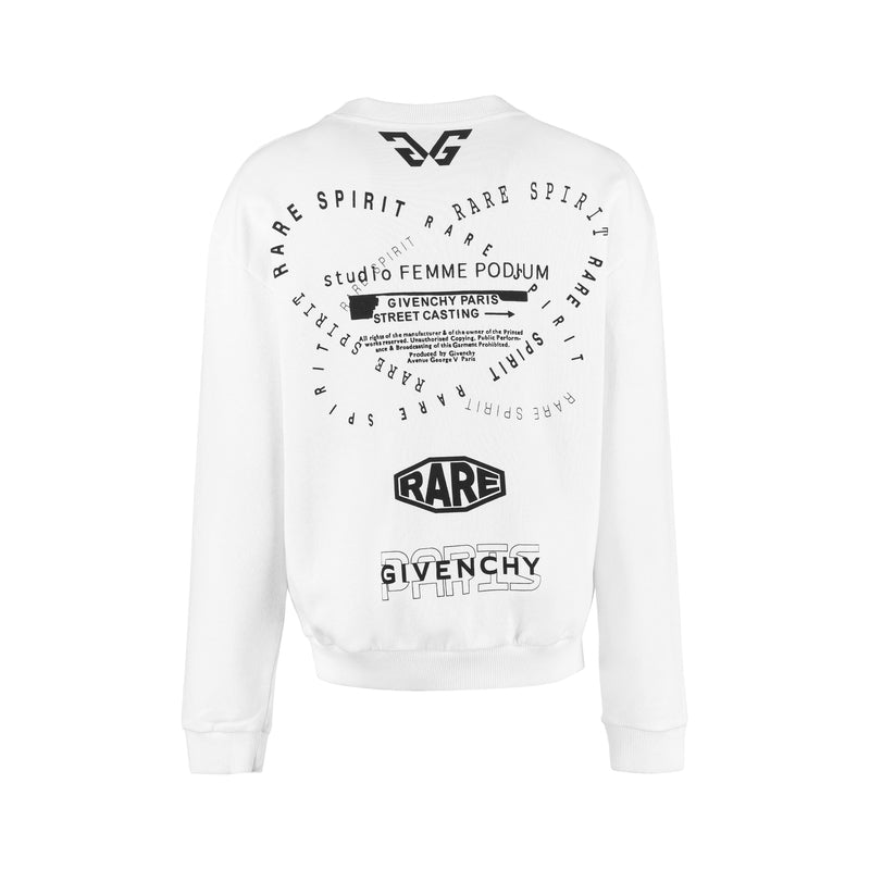 GIVENCHY Hoodies & Sweatshirts BW70013Z33 272677