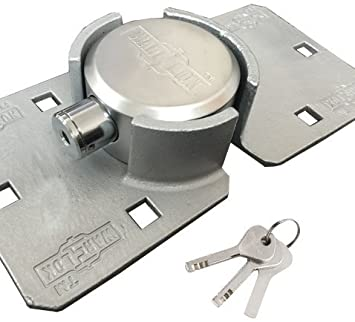 PKH-10 -Heavy Duty Puck Lock and Hasp
