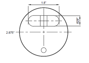 Puck Lock Dimensions