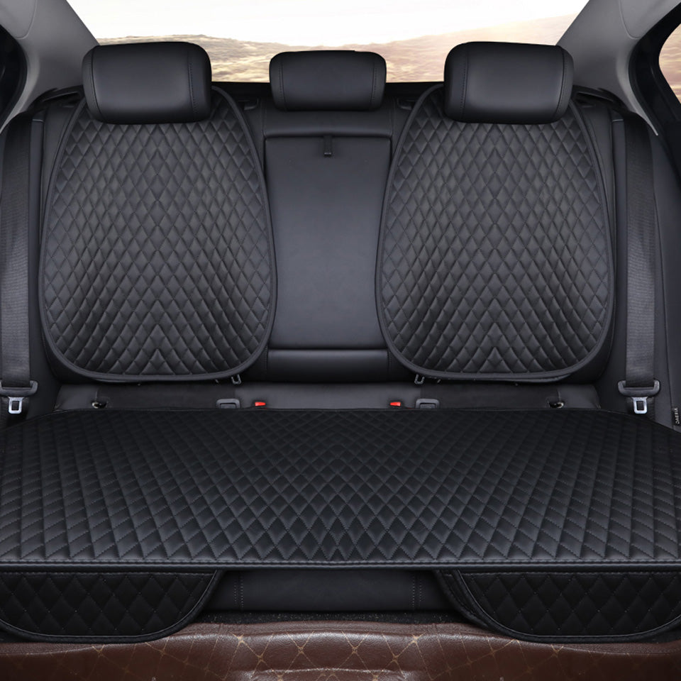Julian's auto<br> covers premium leather rear seat