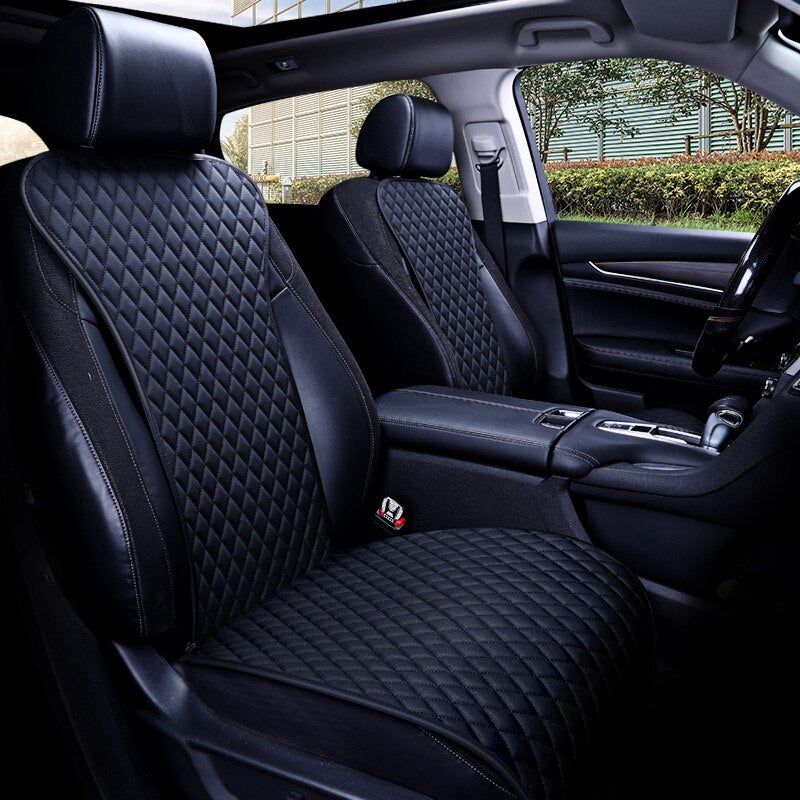 Julian's auto <br> premium leather front seat cover