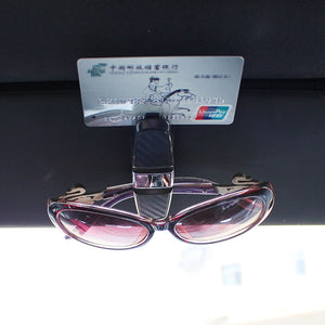 Julian's auto <br> Brushed sunglass holder