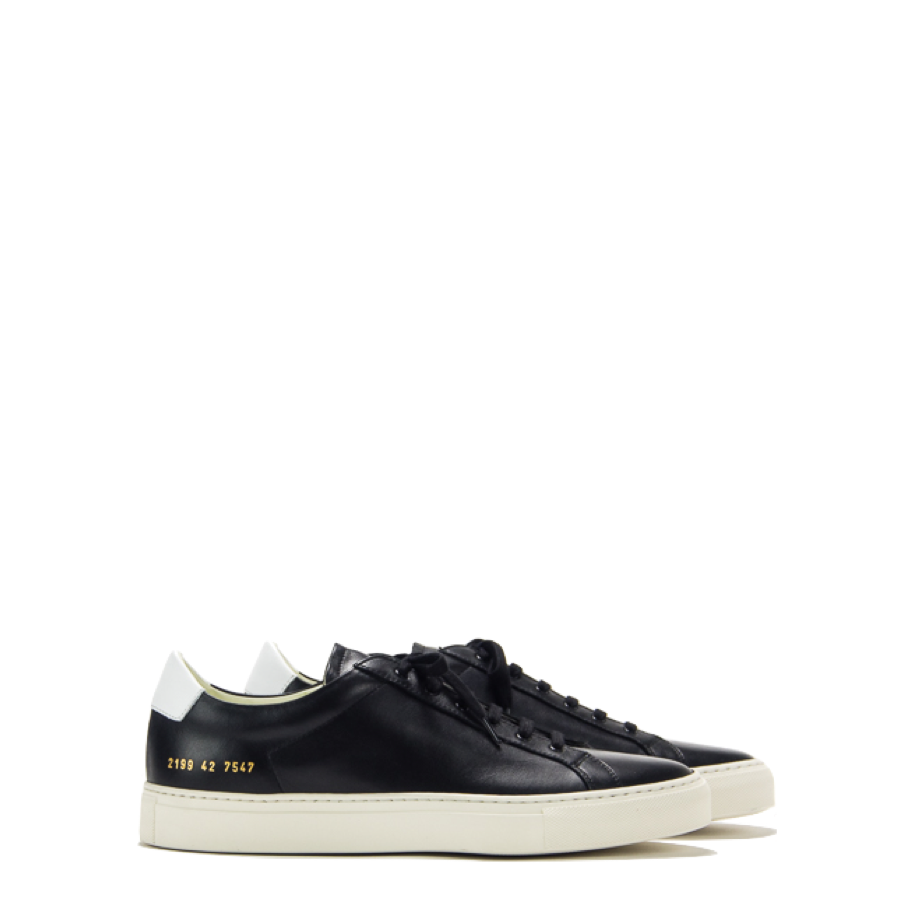Common Projects Retro Low Black