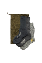 Load image into Gallery viewer, Nigel Cabourn 3 Pack Army Socks Navy