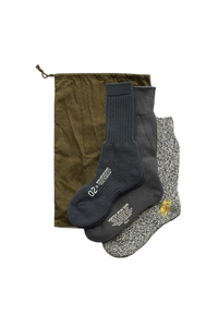 Nigel Cabourn 3 Pack Army Socks Navy