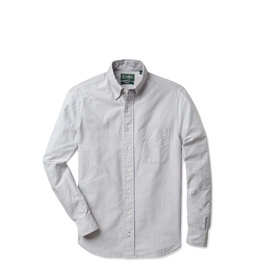 Gitman Vintage Grey Oxford Shirt