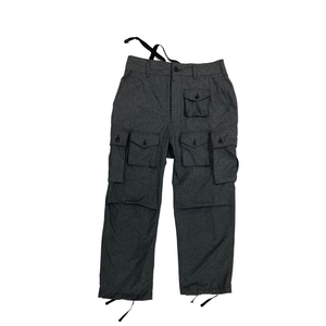 Engineered Garments Heather Charcoal Polyester FA Pants