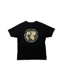 Load image into Gallery viewer, Nigel Cabourn Globe Back Print Tee BLK
