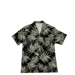 Officine Generale Dario Tropical Leaf S/S Shirt
