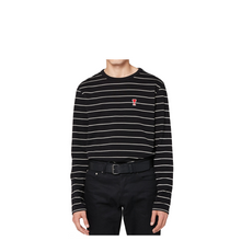 Load image into Gallery viewer, AMI Logo Stripe L/S Tee