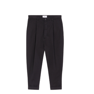 AMI Oversized Carrot Fit Pants Black