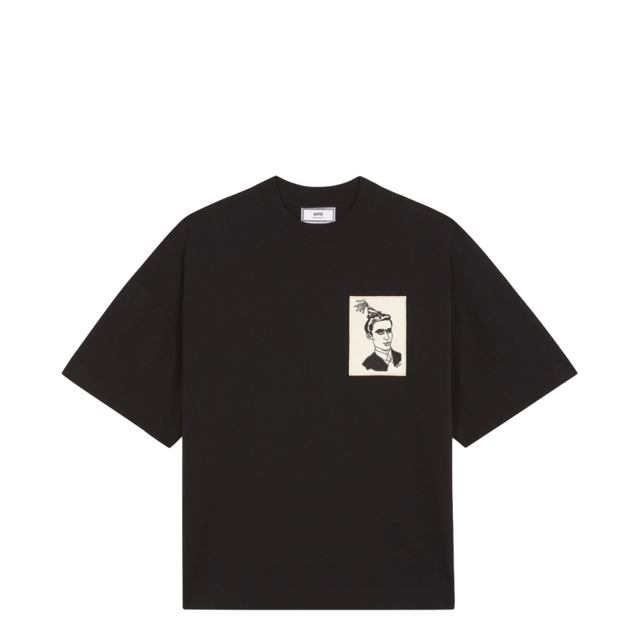 AMI Anniversary Face Patch T-Shirt