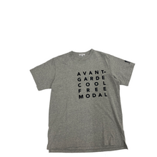 Load image into Gallery viewer, Engineered Garments Avant Print Grey T-shirt