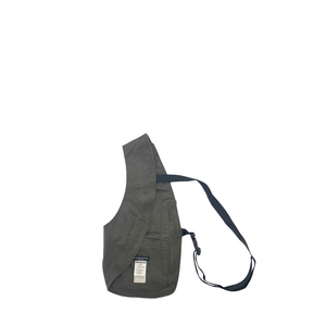 Engineered Garments Coated Twill Shoulder Vest DK Olive