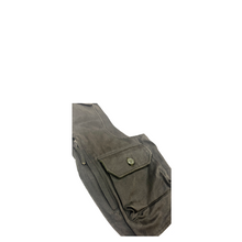 Load image into Gallery viewer, Engineered Garments Coated Twill Shoulder Vest DK Olive