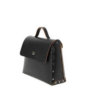 Hender Scheme Assemble  Bag Flap L Black
