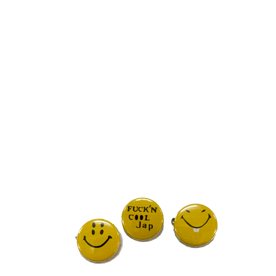 Kapital SMILE Badge Pack