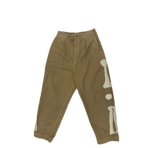 Kapital Chino High Waist NIME Pants BONES