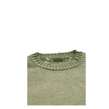 Load image into Gallery viewer, Kapital 5G Cotton Knit BONE Crew Sweater