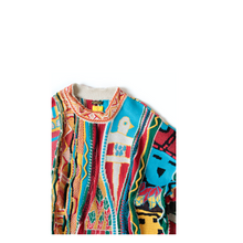 Load image into Gallery viewer, Kapital 7G KACHINA GAUDY Crew Sweater
