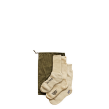 Load image into Gallery viewer, Nigel Cabourn 3 Pack Army Socks Ivory