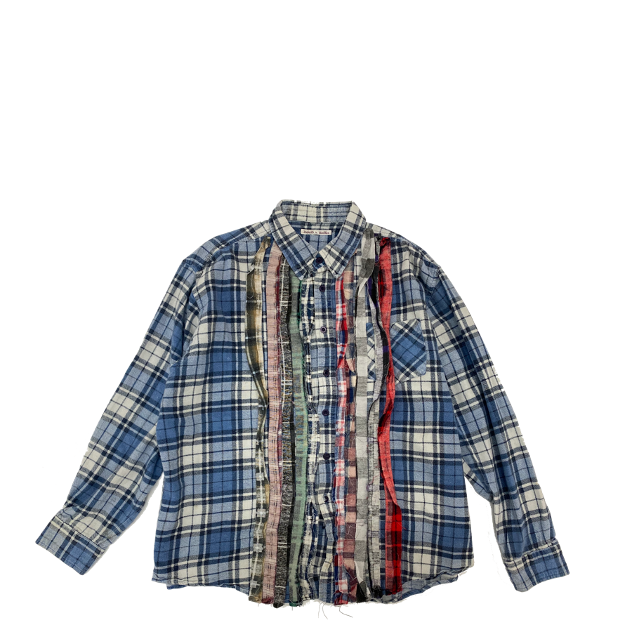 Needles Rebuild Ribbon Flannel Shirt L2