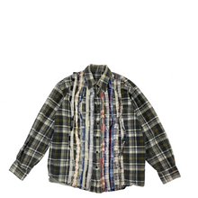 Load image into Gallery viewer, Needles Rebuild Ribbon Flannel Shirt M