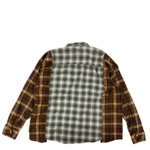 Load image into Gallery viewer, Needles Rebuild Flannel Ribbon Wide Shirt OS1