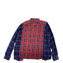 Load image into Gallery viewer, Needles Rebuild Flannel Ribbon Wide Shirt OS2