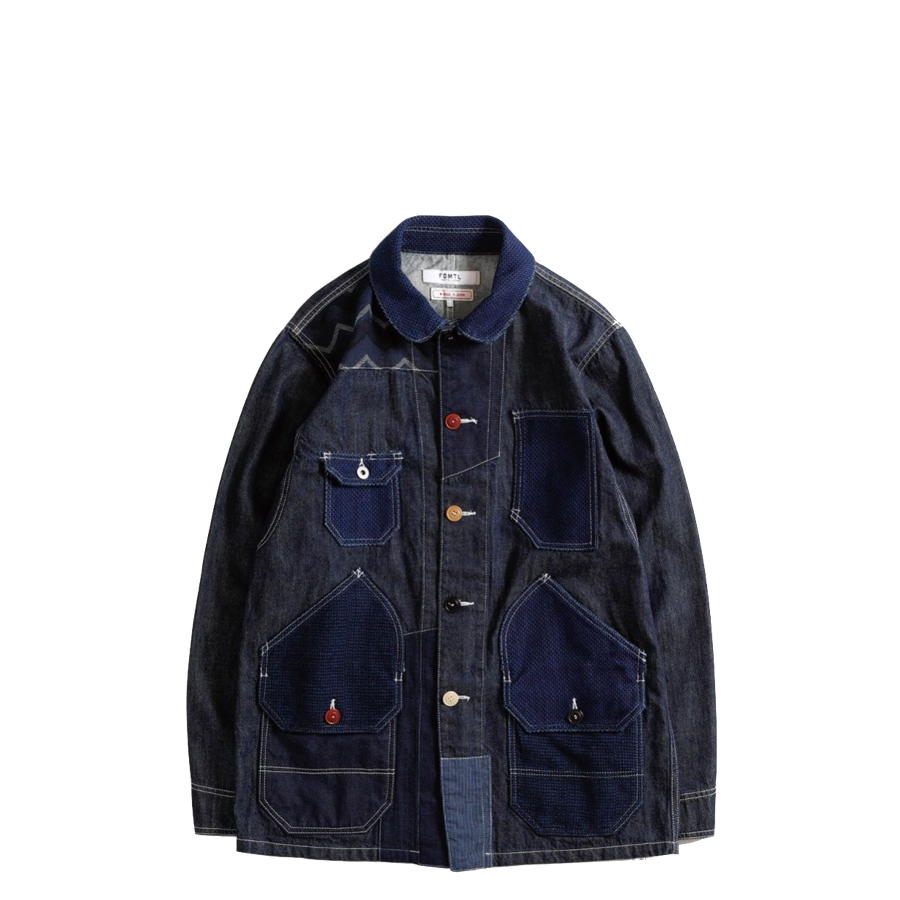 FDMTL Patchwork Coverall Rinse Jacket