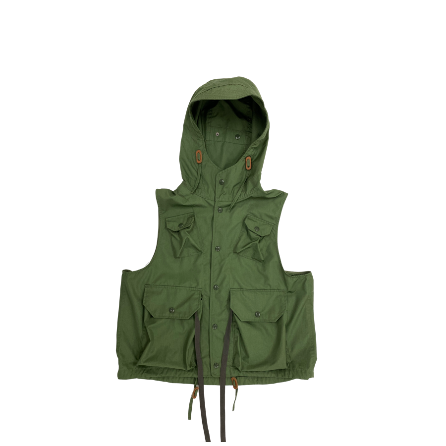 Engineered Garments Olive PC Field Vest