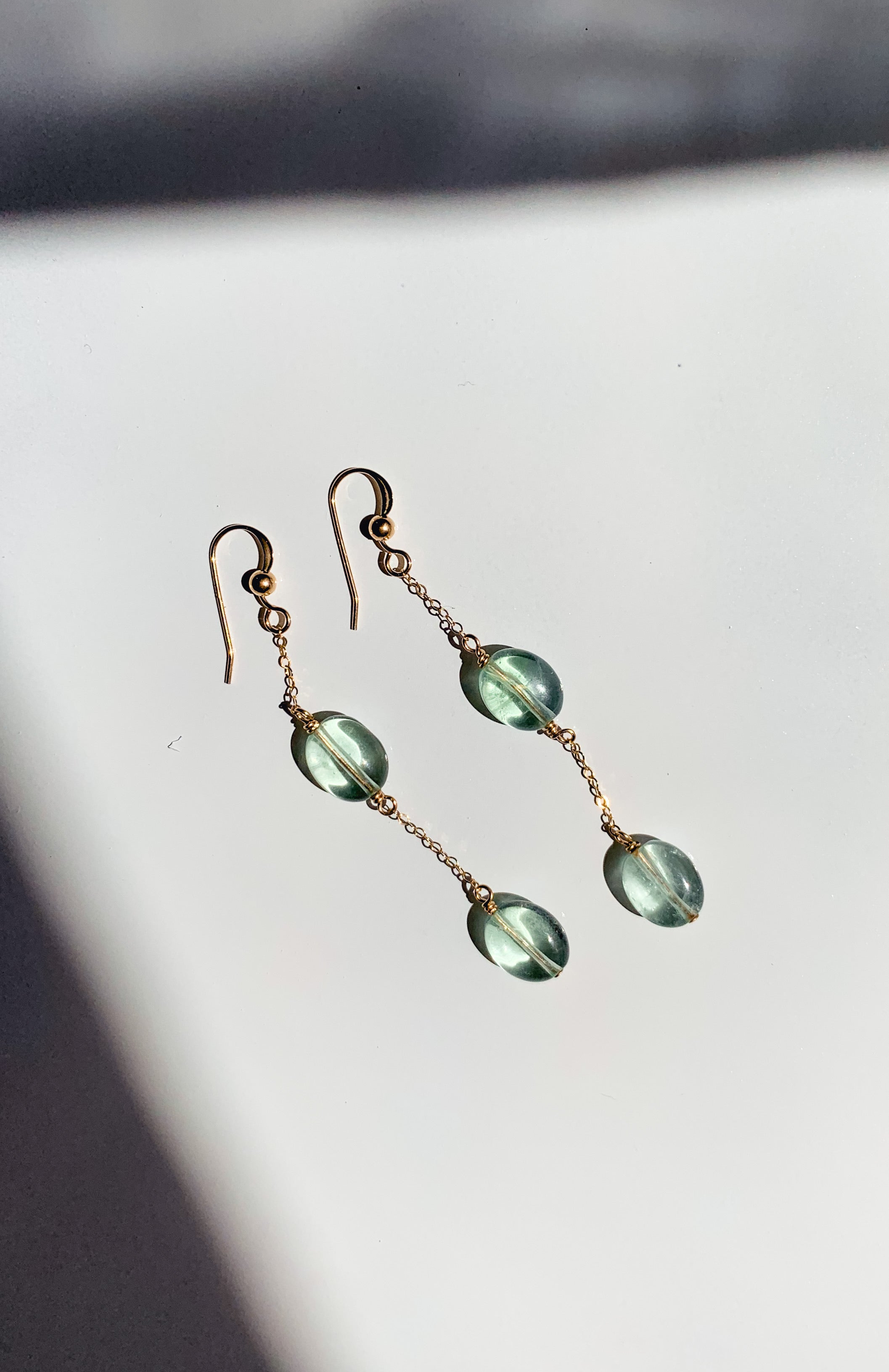 Crystal Waters Earrings
