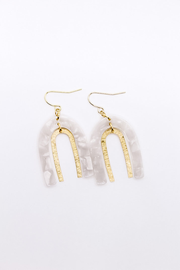 Luna Bow Earrings