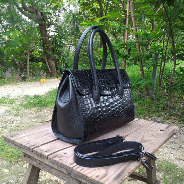 Crocodile skin leather Accessories