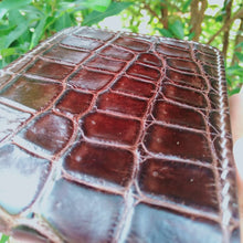 Load image into Gallery viewer, Wallet made of genuine crocodile skin Handmade