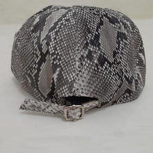 Load image into Gallery viewer, Hat made of Snake skin adjustable premium baseball hat