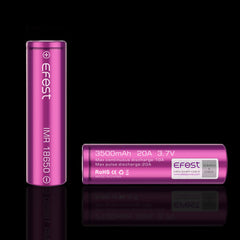 Efest 18650 3500mAh Flat Top Battery - Purple Series