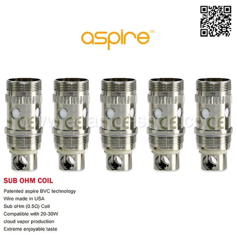 Aspire Atlantis  Coils
