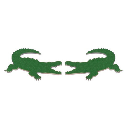 Alligator Stud Earrings