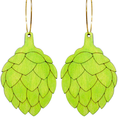 Artichoke Hoops Earrings