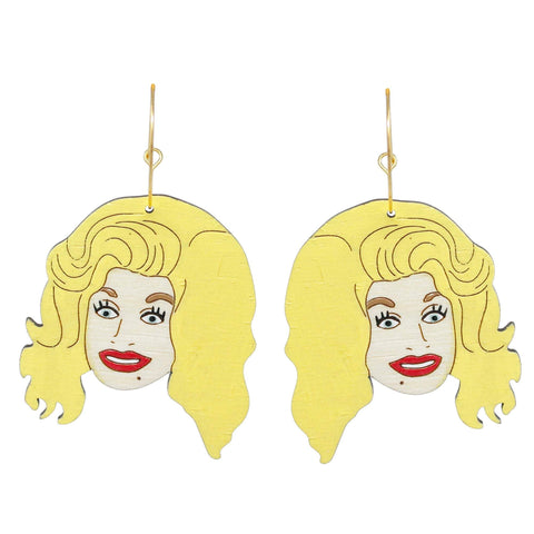 Dolly Hoops Earrings