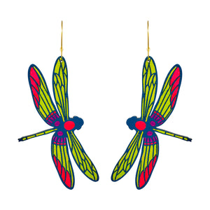 Giant Dragonfly Hoops