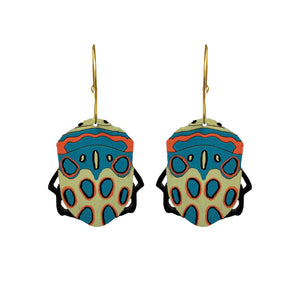 Picasso Bug Hoops