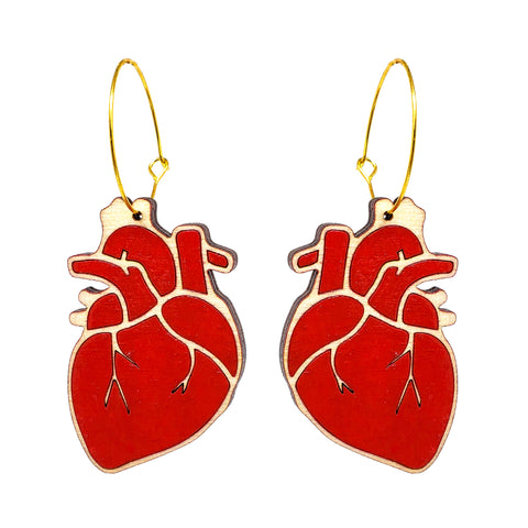 Anatomical Heart Hoops