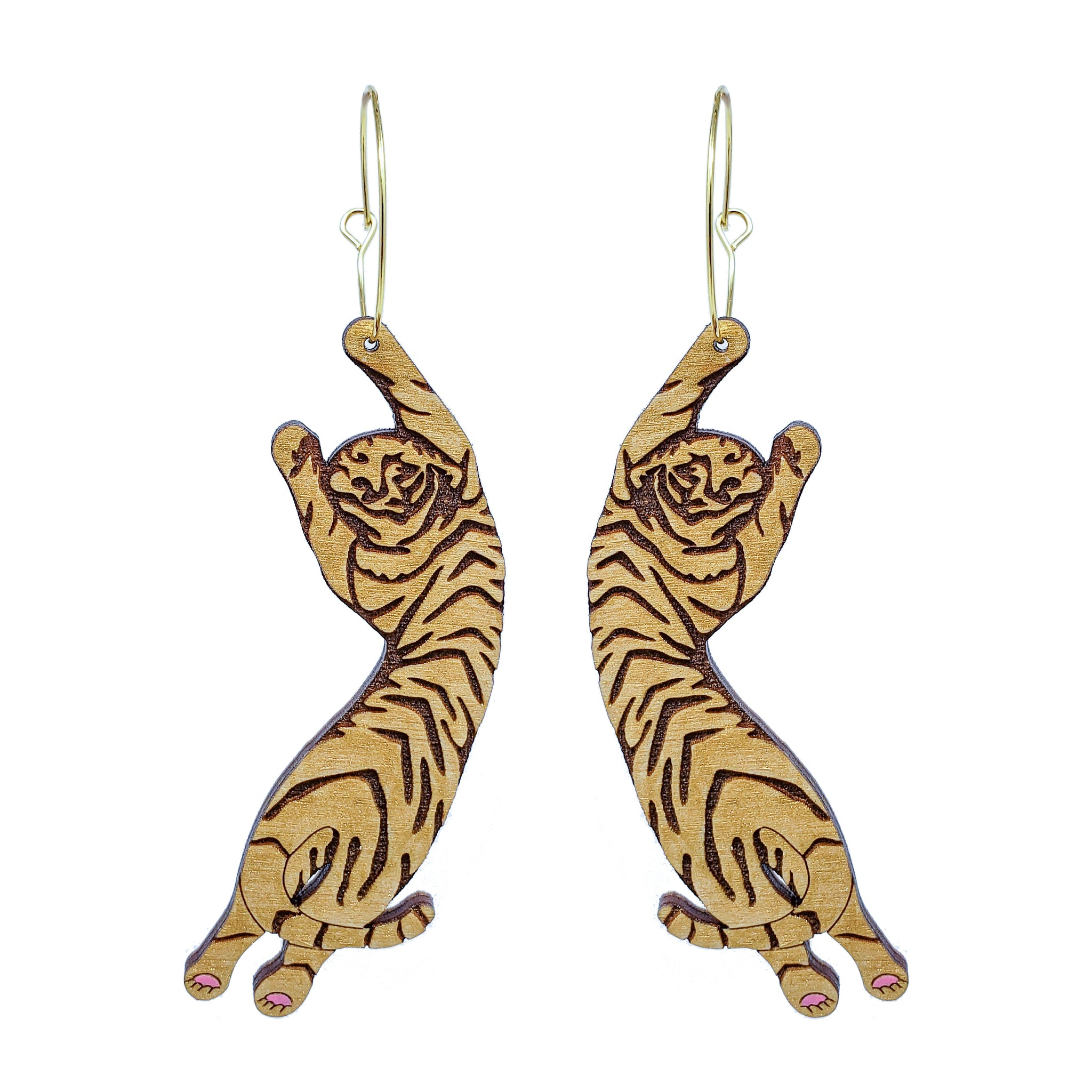 Tiger Hoop Gold